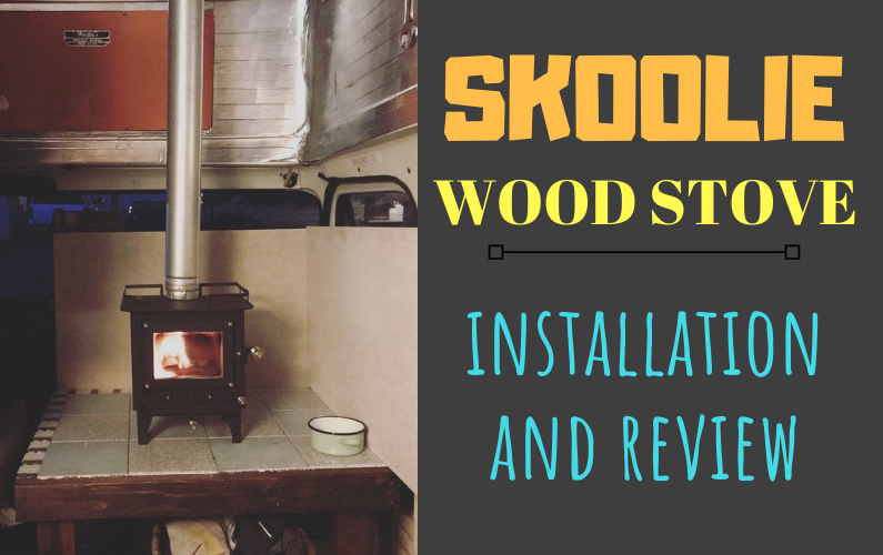 Skoolie Wood Stove: How We Heat Our Bus + Review