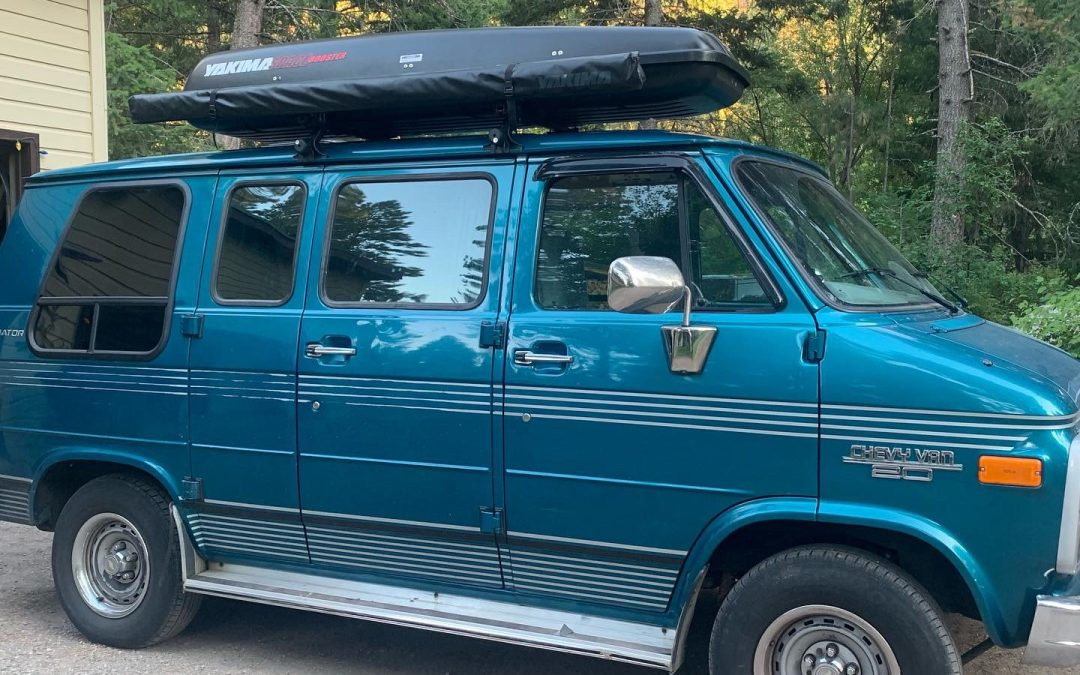 "A Tour of my 1995 Chevy Van Conversion (The ""Gladiator"")"