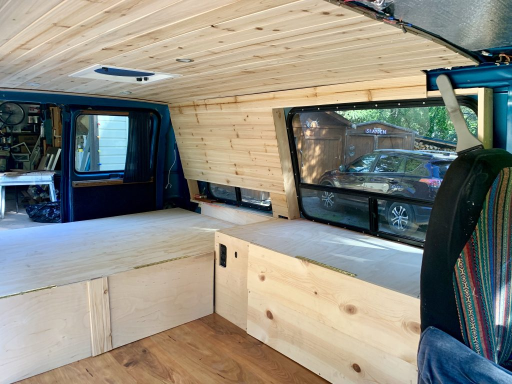 1995 Chevy Van Conversion Build